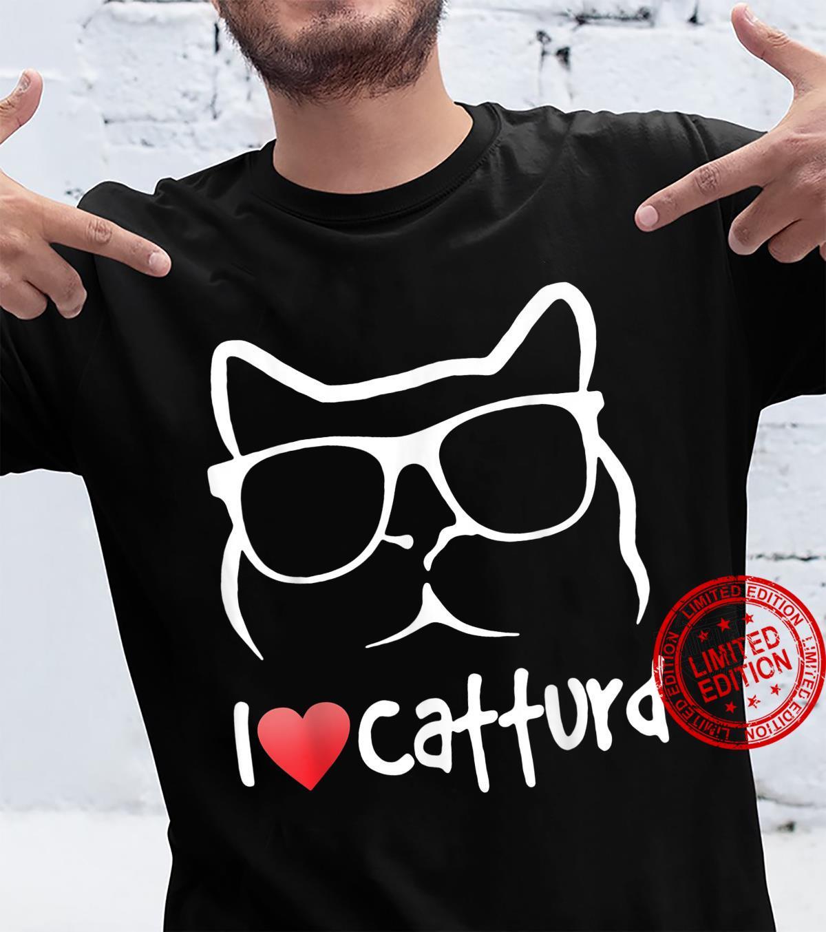 CAT I LOVE CATTURD Shirt