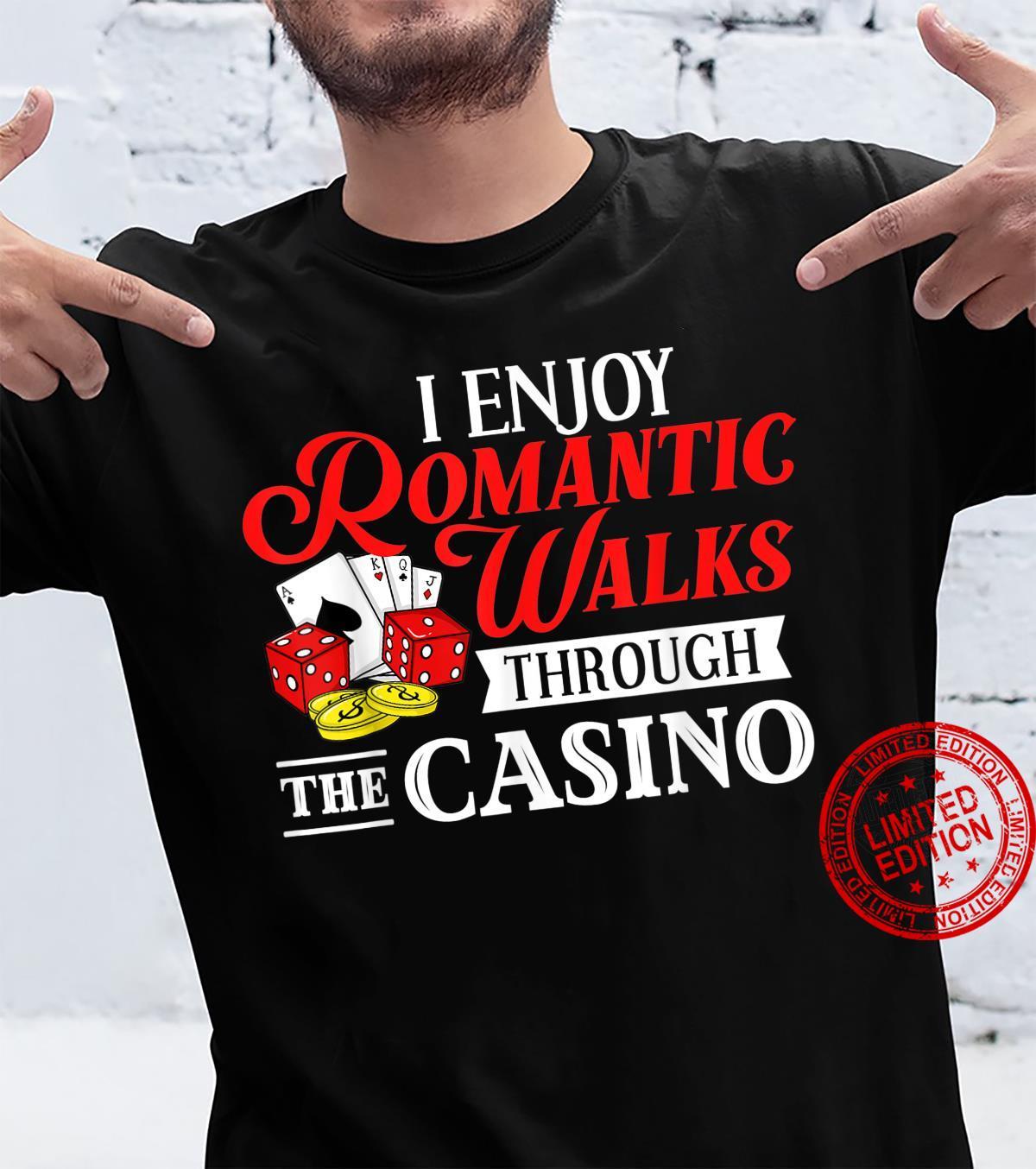 Casino Slot Machine Game Chips Card Player Shirt
