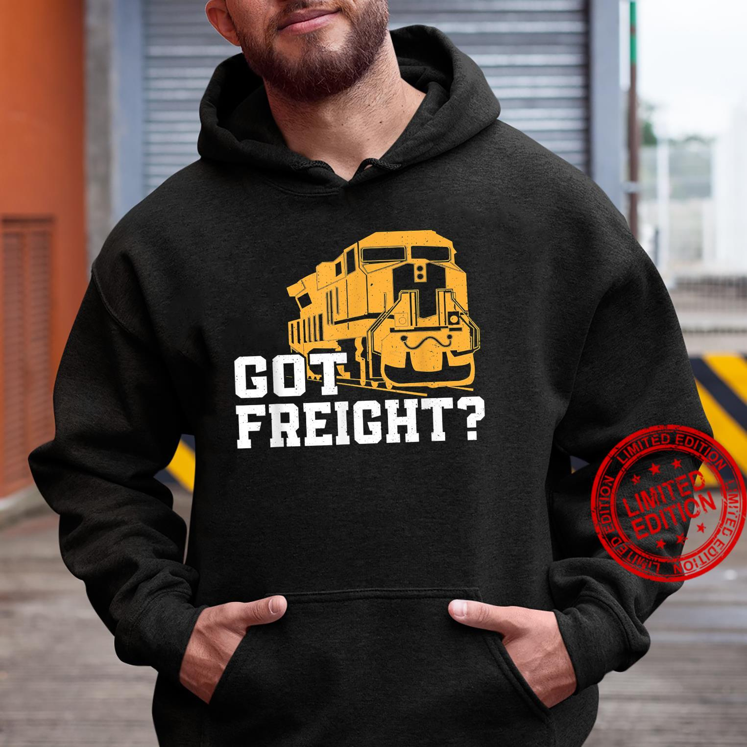 Great Freight Train Design Train Driver Trainspotter Shirt hoodie