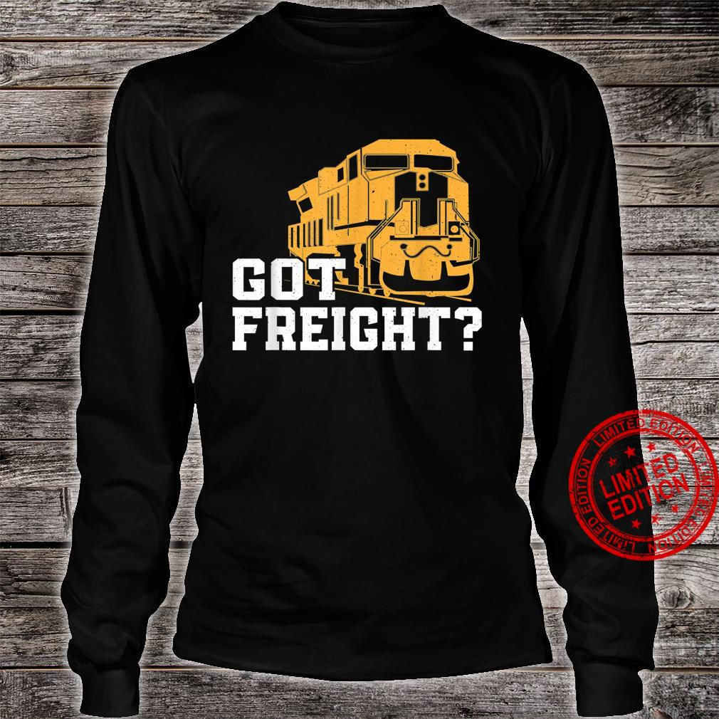 Great Freight Train Design Train Driver Trainspotter Shirt long sleeved