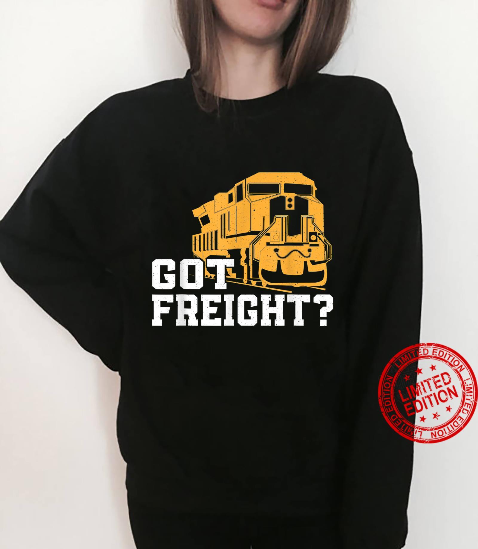 Great Freight Train Design Train Driver Trainspotter Shirt sweater