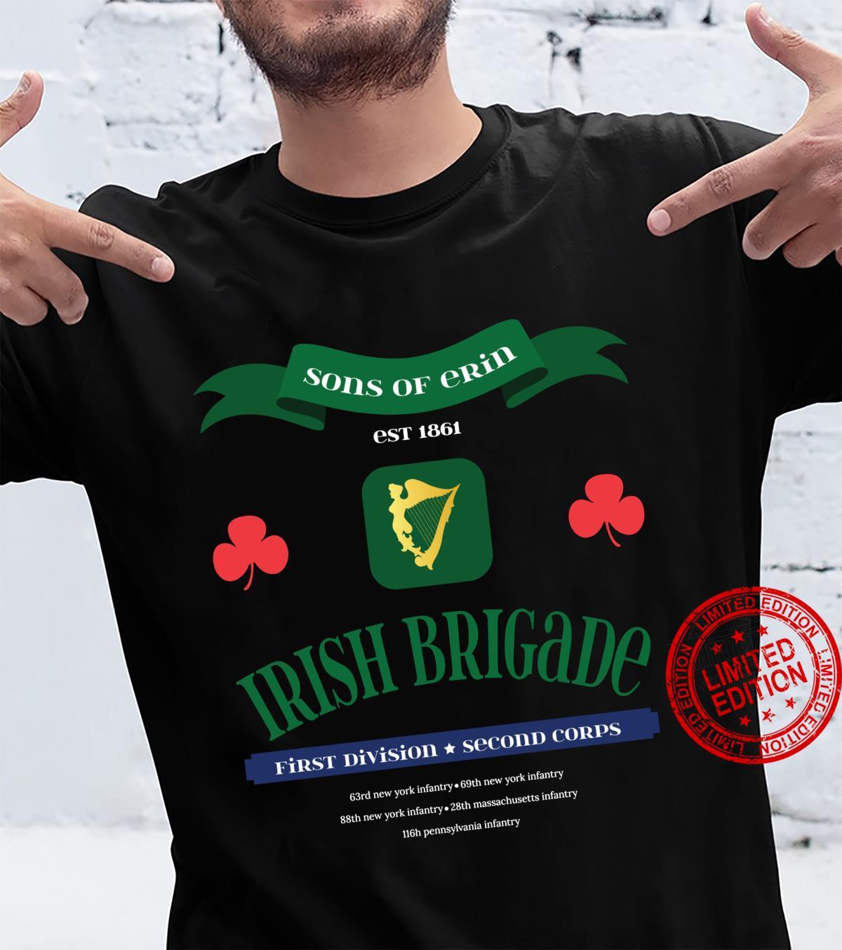 Irish Brigade American Civil War Shirt
