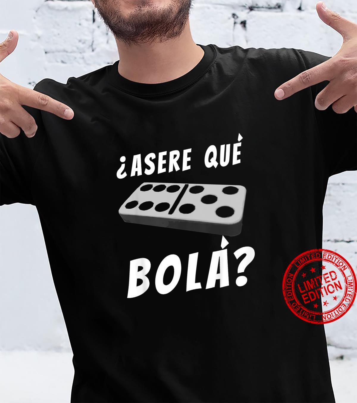 Kids Cuban Saying Miami Florida Cuba Dominoes Domino Game Shirt