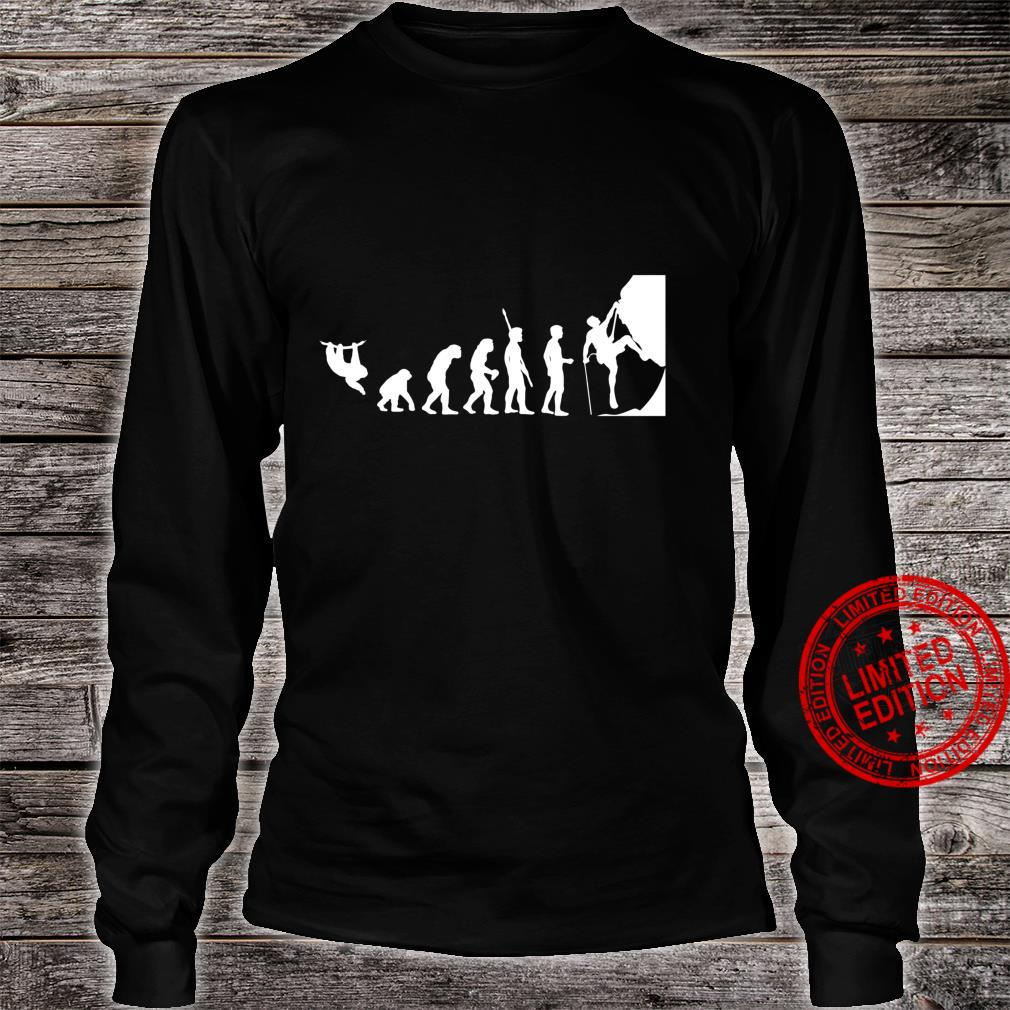 Kletter Evolution Boulder Klettern Bergsteigen Bergsteiger Shirt long sleeved