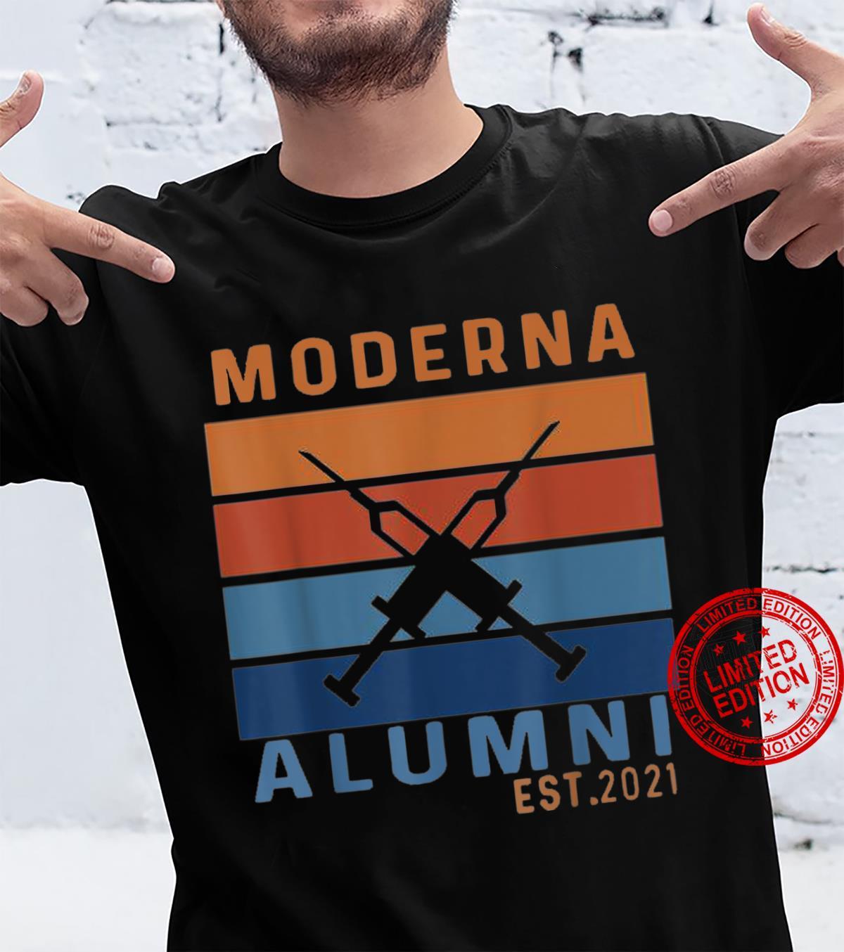 Moderna alumni, Moderna Alumni 2021, Vaccinated Shirt