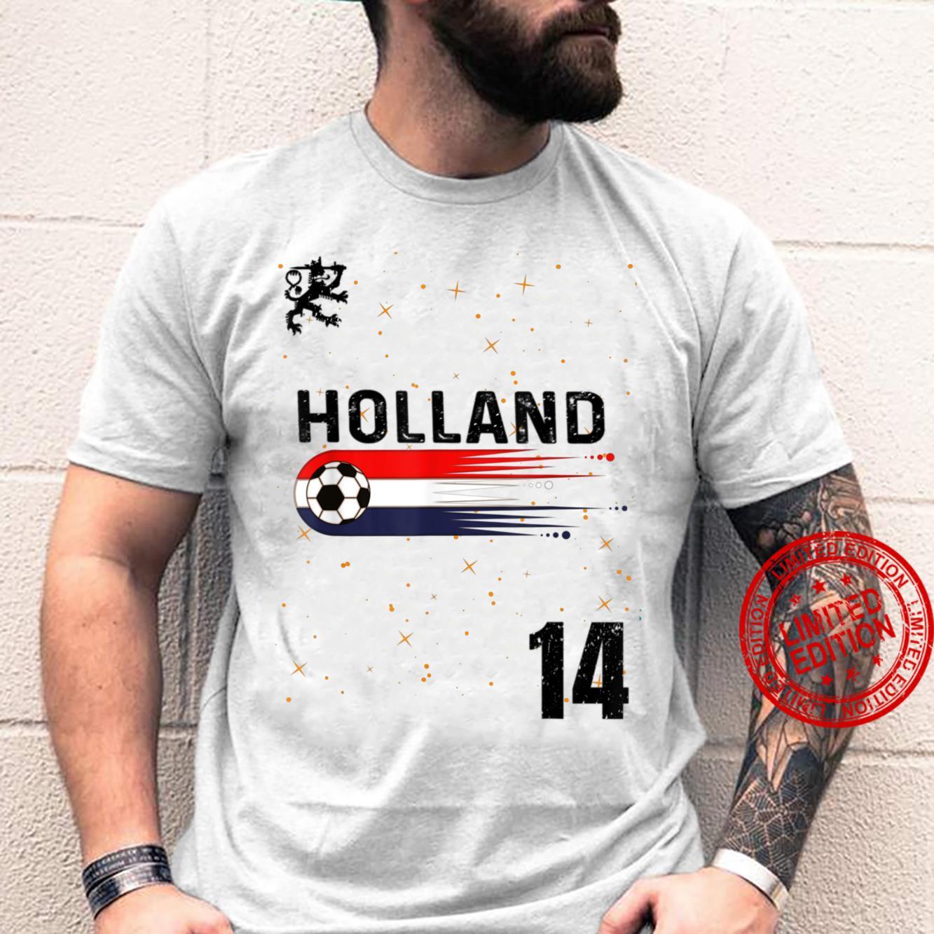 Retro Netherlands Soccer Jersey Hup Holland Dutch Football Shirt