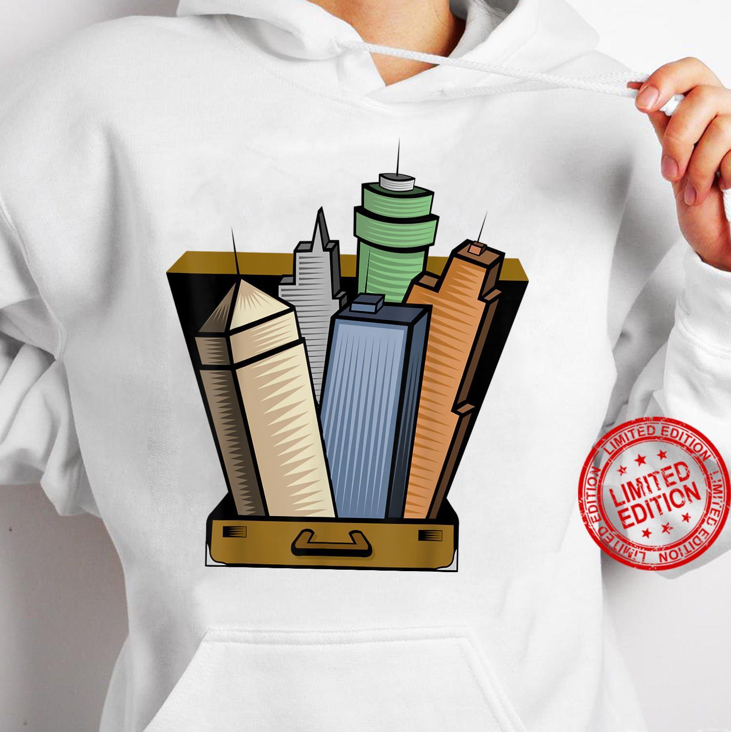Skyscraper Skyline City Planner Architecture Shirt hoodie