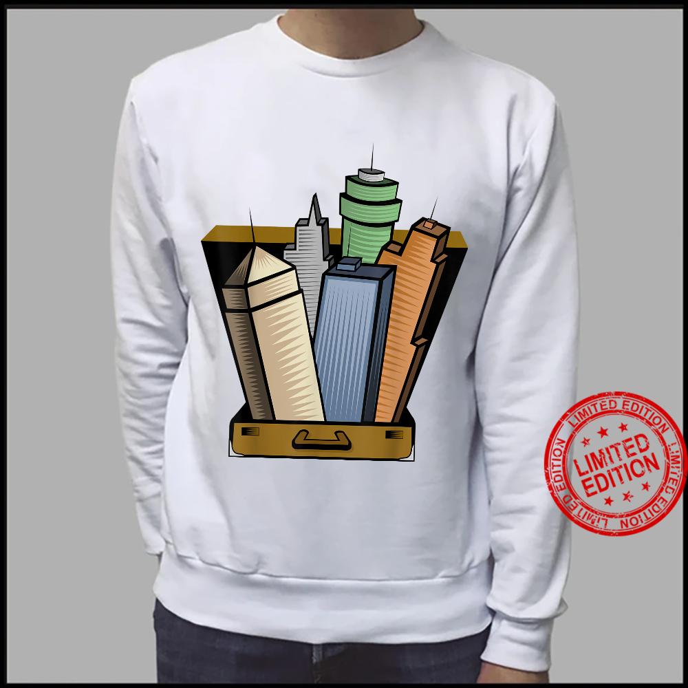 Skyscraper Skyline City Planner Architecture Shirt sweater