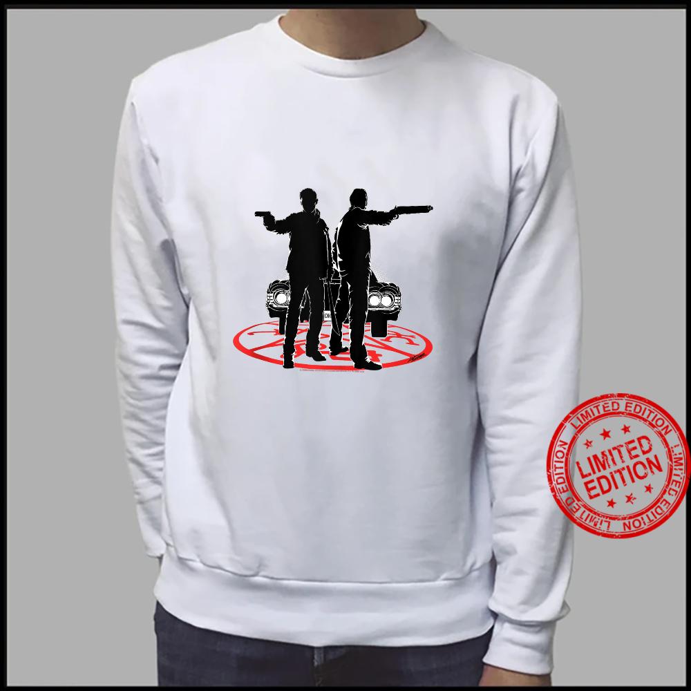 Supernatural Sam And Dean Silhouette Shirt sweater