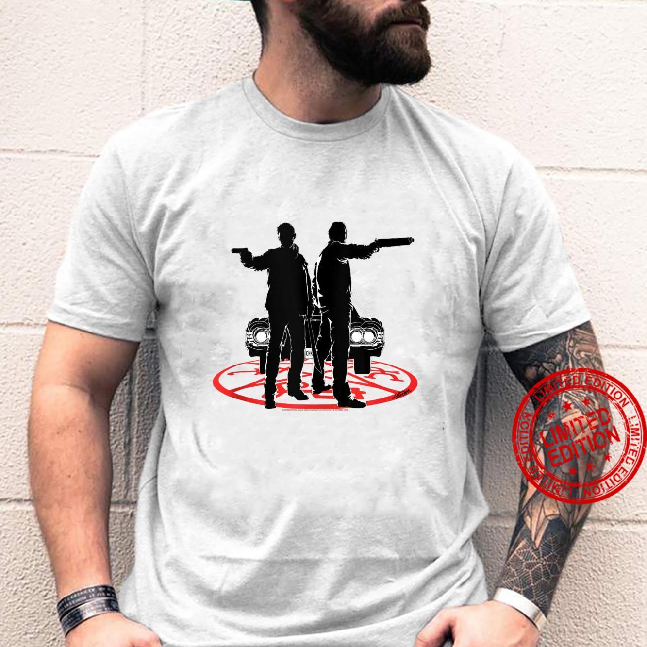 Supernatural Sam And Dean Silhouette Shirt