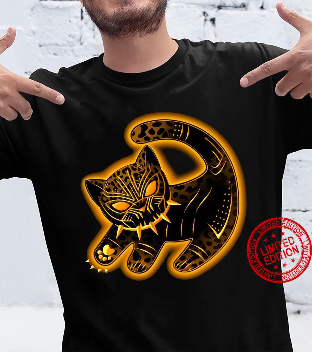 The Fake Black Panther King shirt