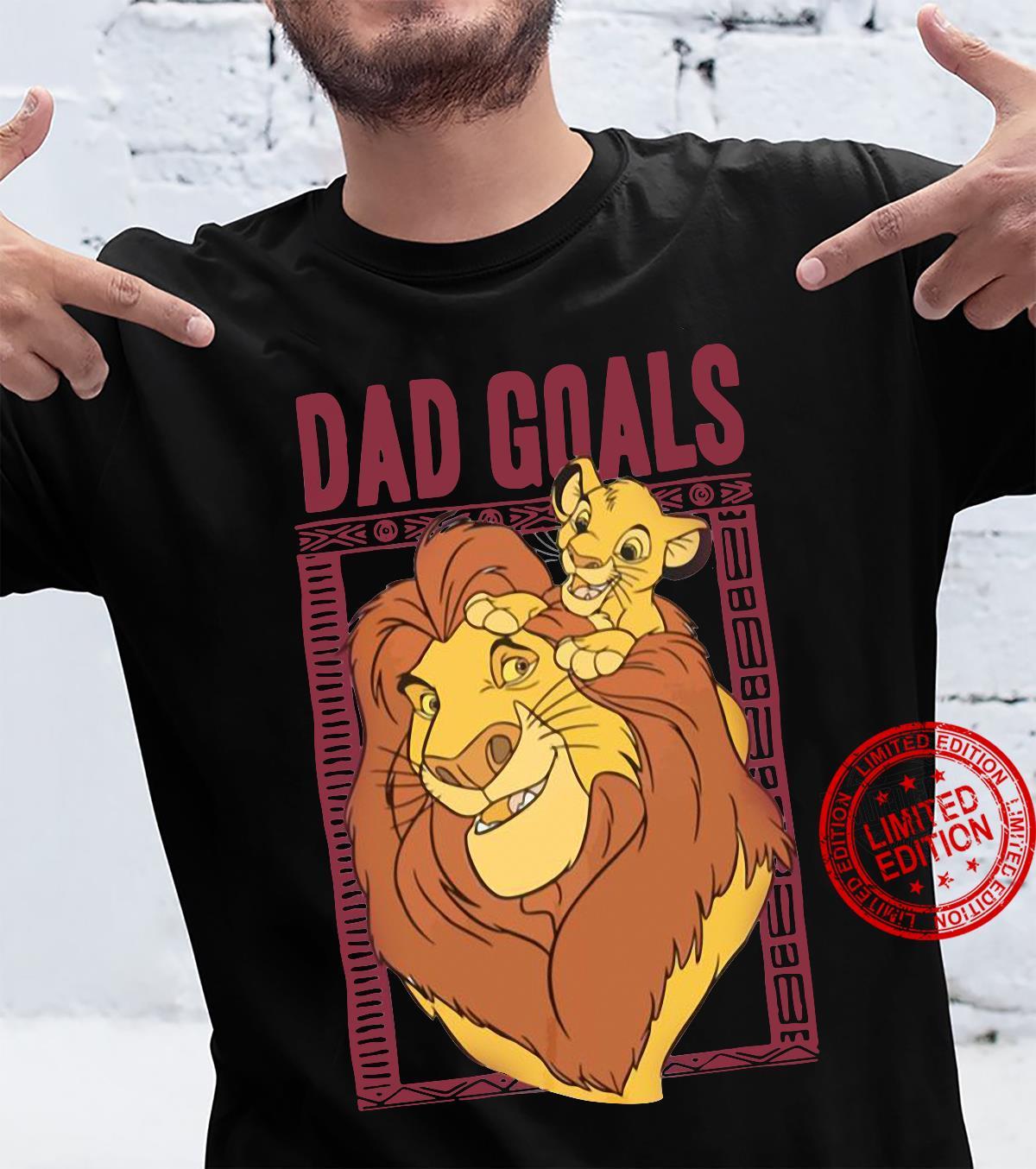 The lion king dad goals shirt
