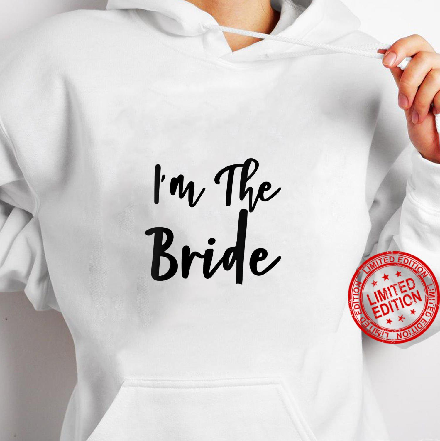 Womens I'm The Bride Bridal Hen Party Do Night Shirt hoodie