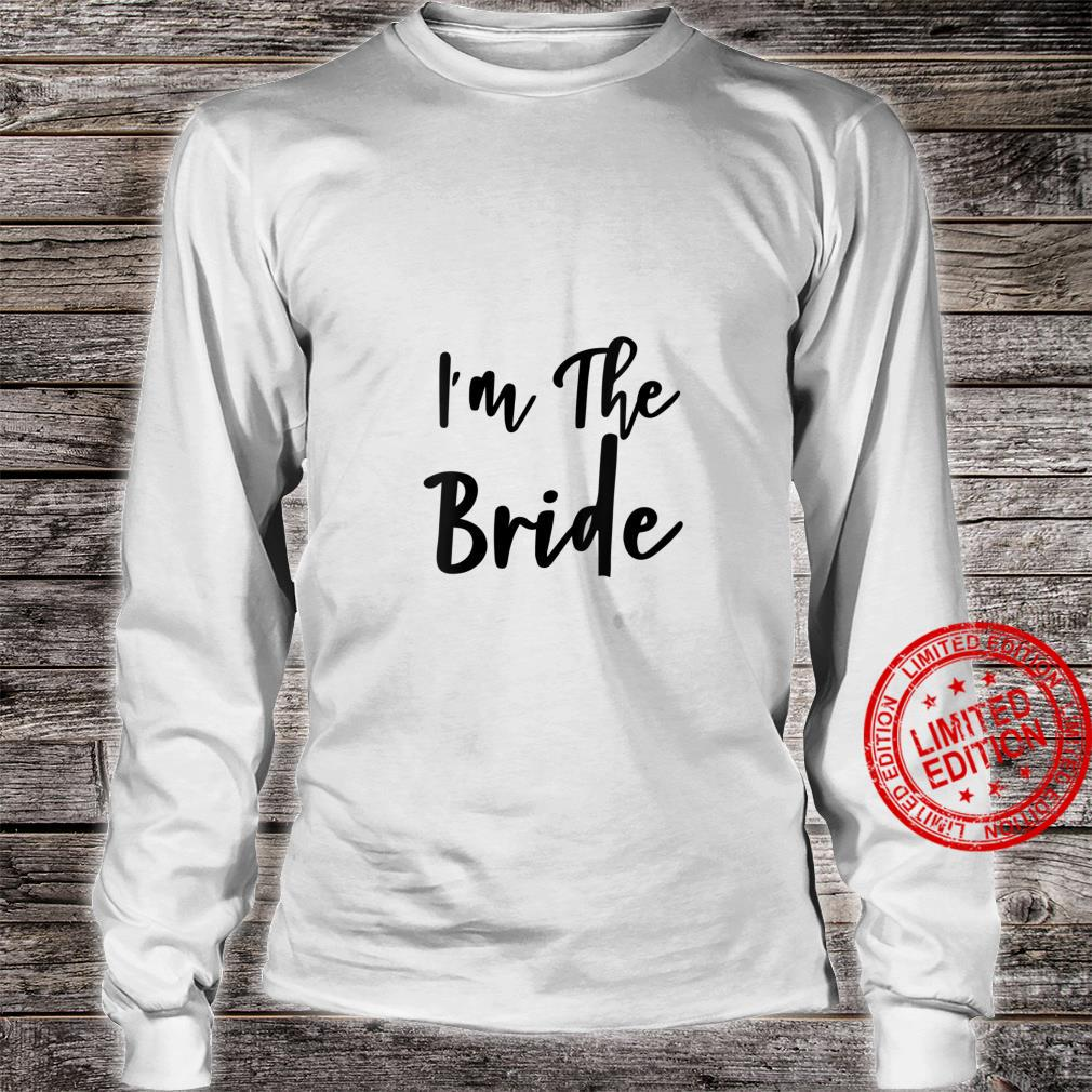 Womens I'm The Bride Bridal Hen Party Do Night Shirt long sleeved