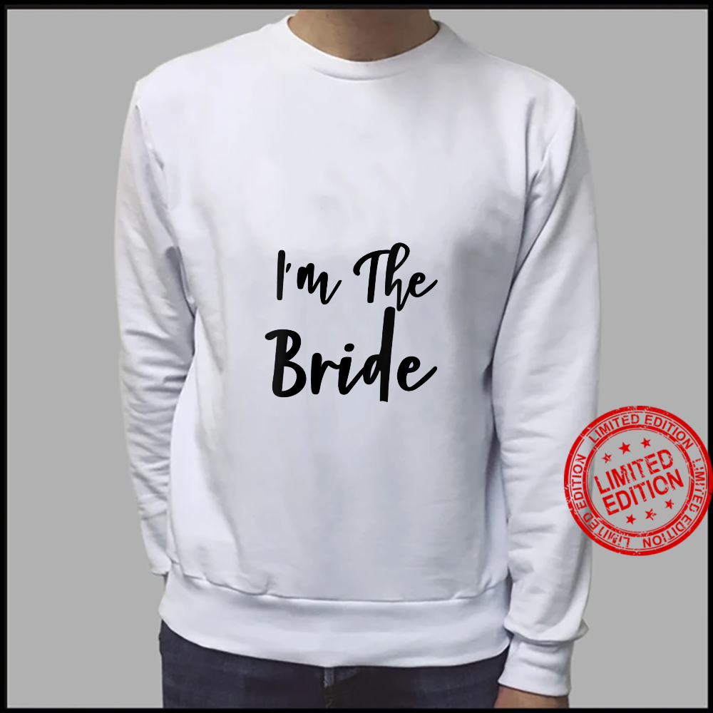 Womens I'm The Bride Bridal Hen Party Do Night Shirt sweater