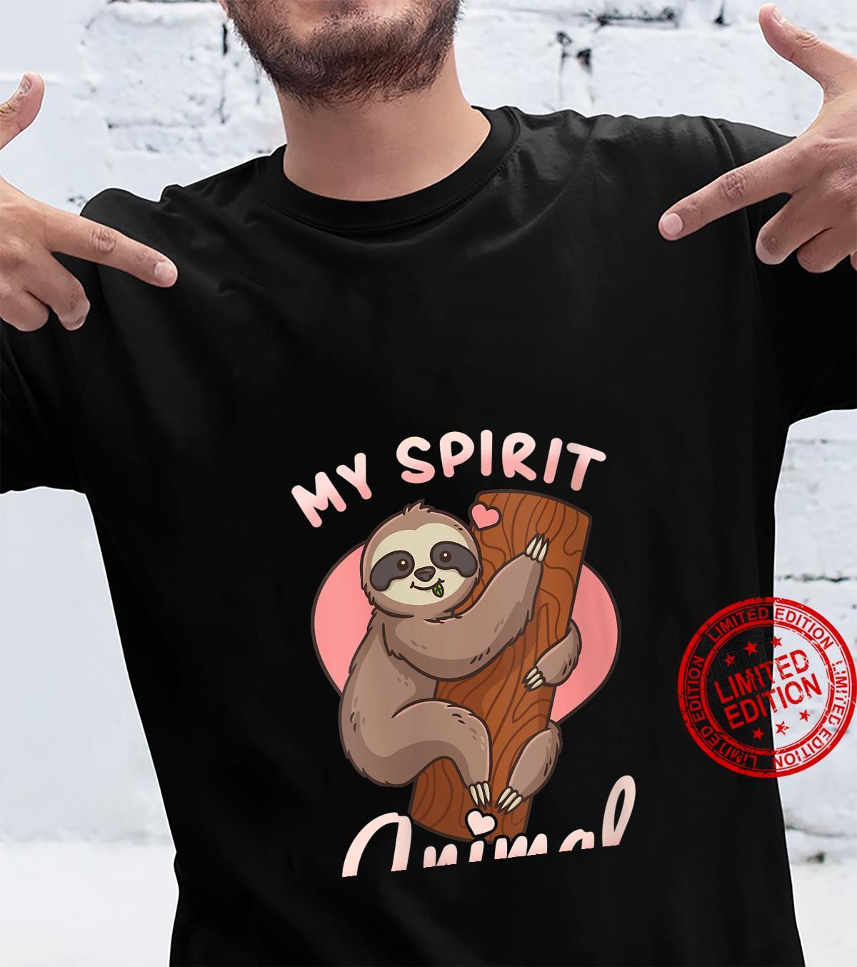 Womens Sloth Shirt