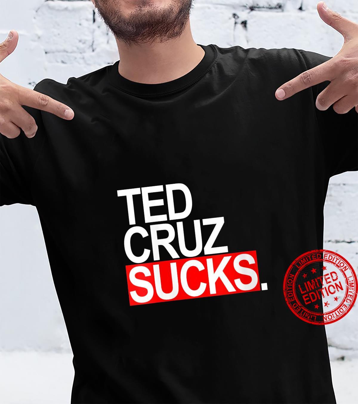 Womens Ted Cruz Sucks Shirt