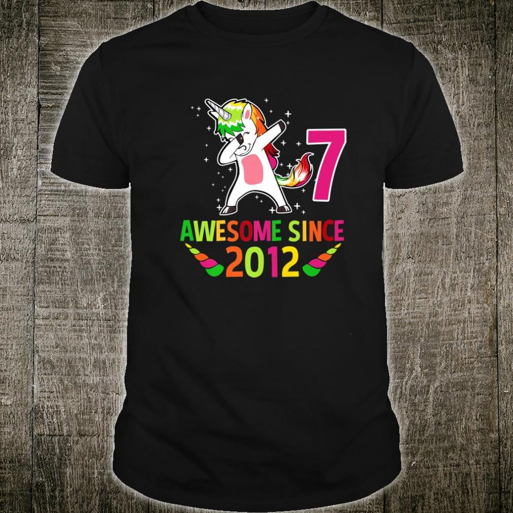 Awesome Since 2012 Shirt
