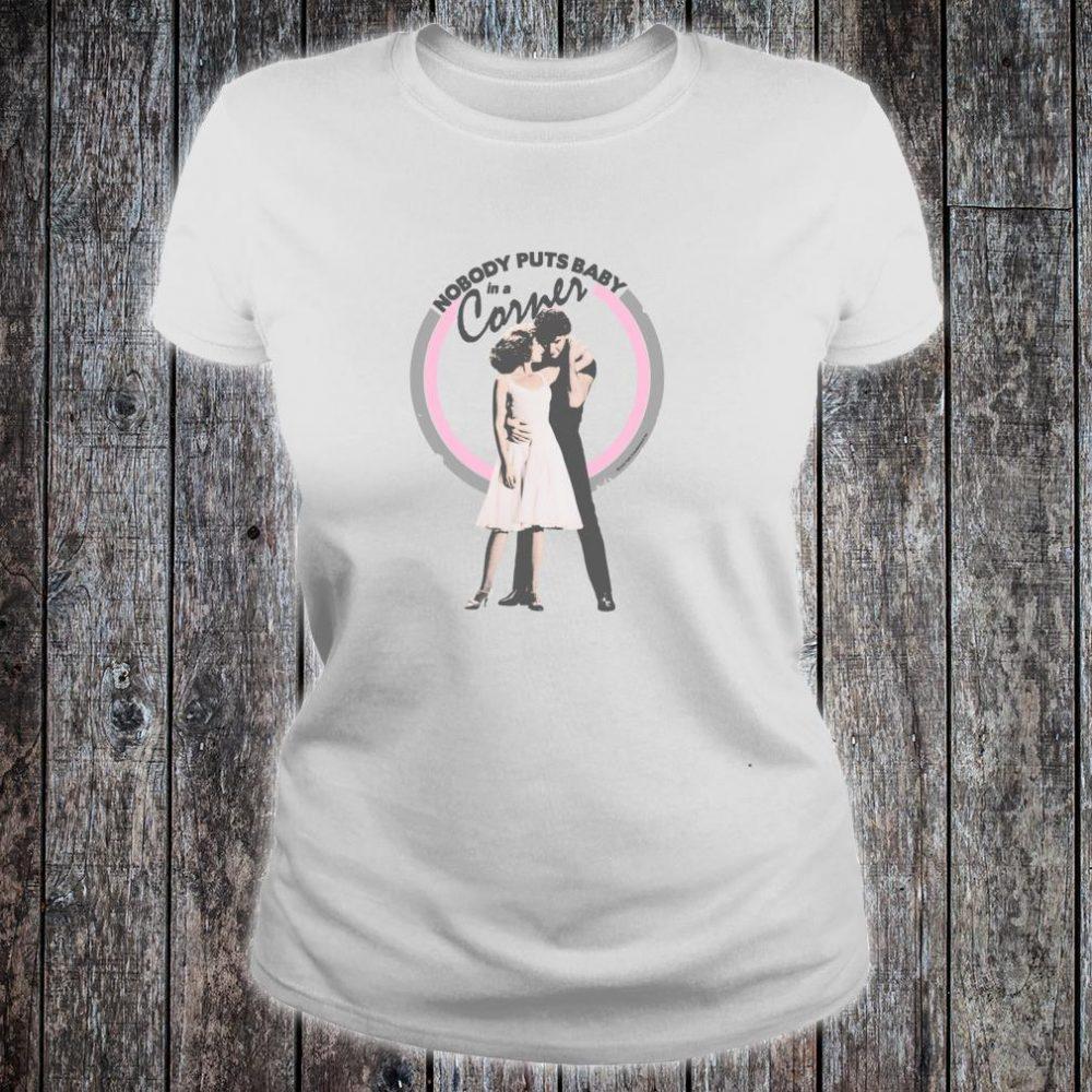 Dirty Dancing Baby in a Corner Shirt ladies tee