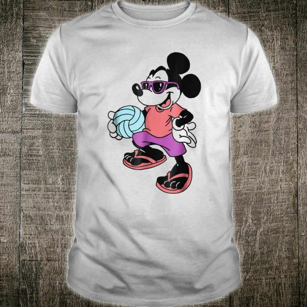 Disney Mickey Mouse Volleyball Shirt
