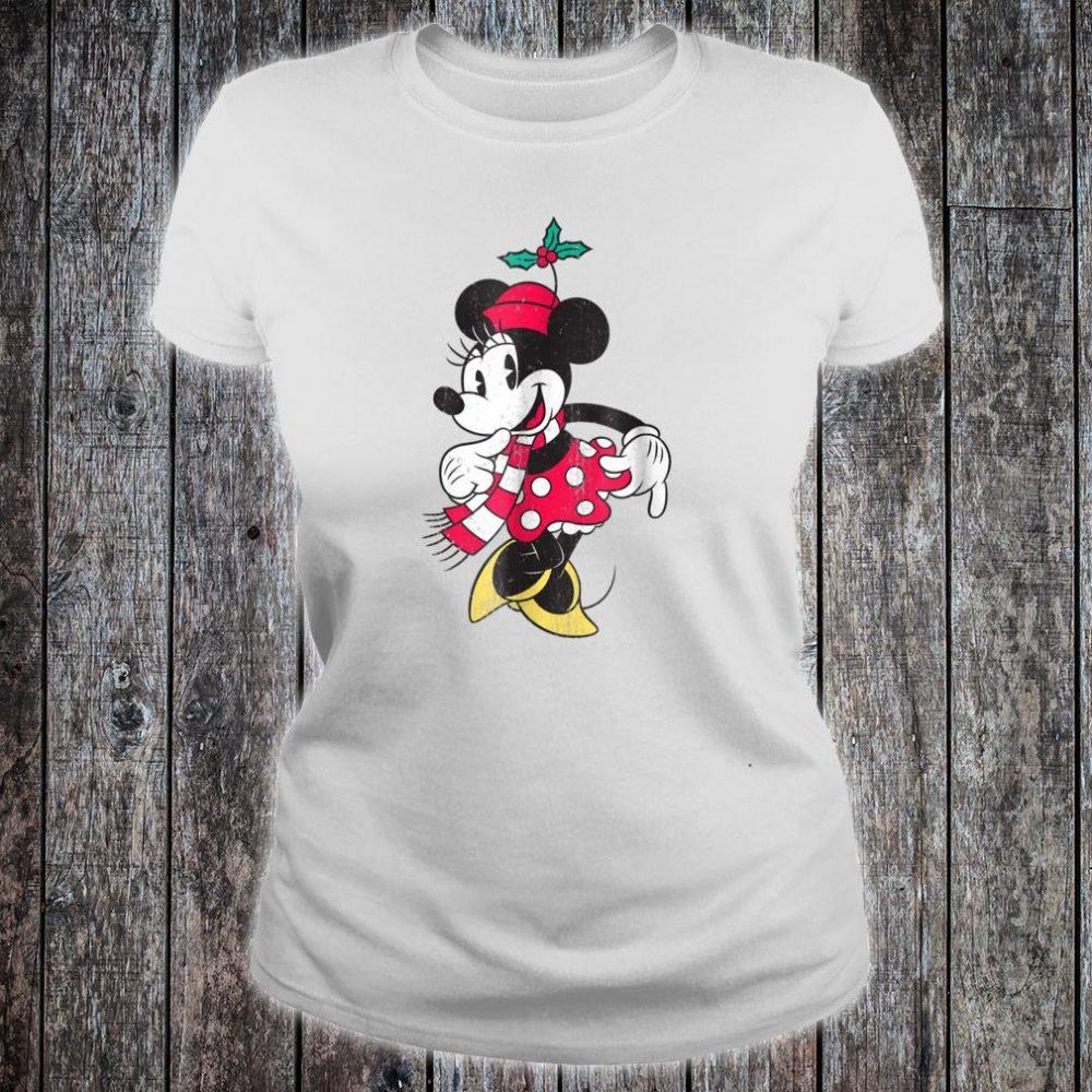 Disney Minnie Mouse Christmas Shirt ladies tee
