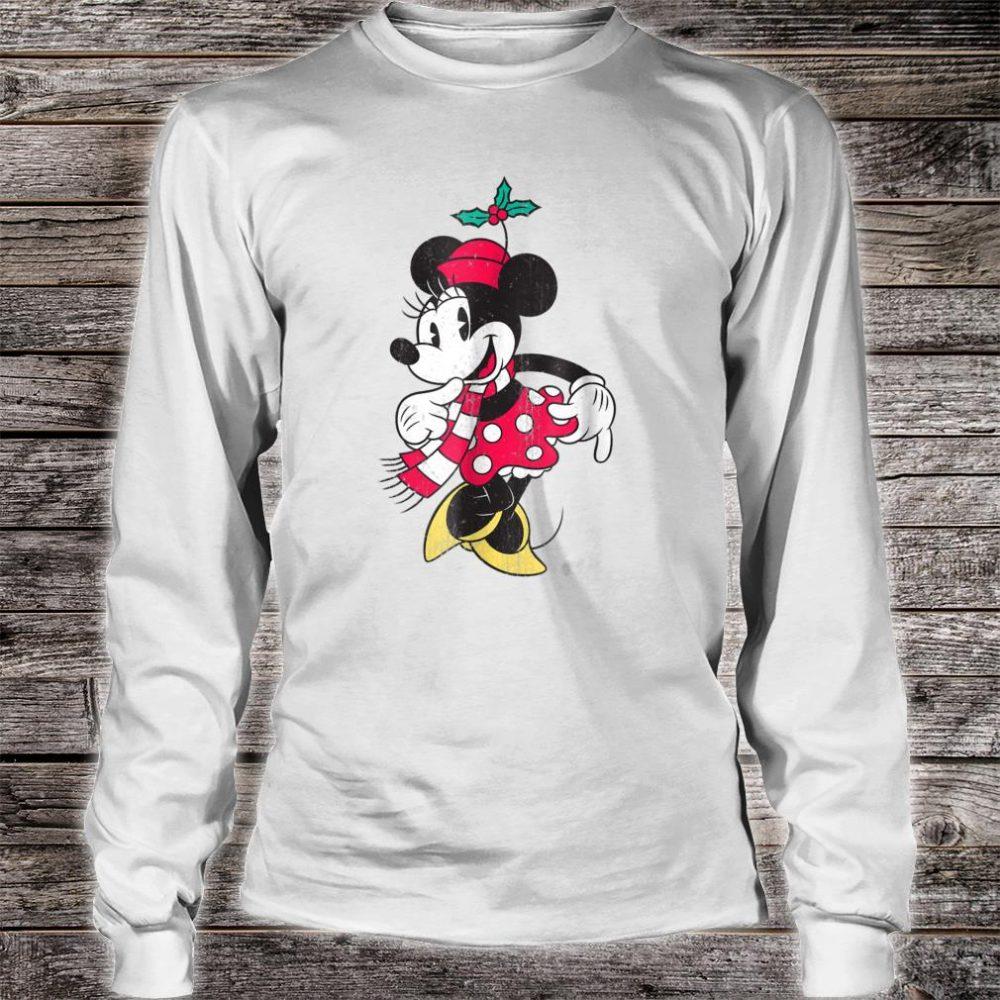 Disney Minnie Mouse Christmas Shirt long sleeved
