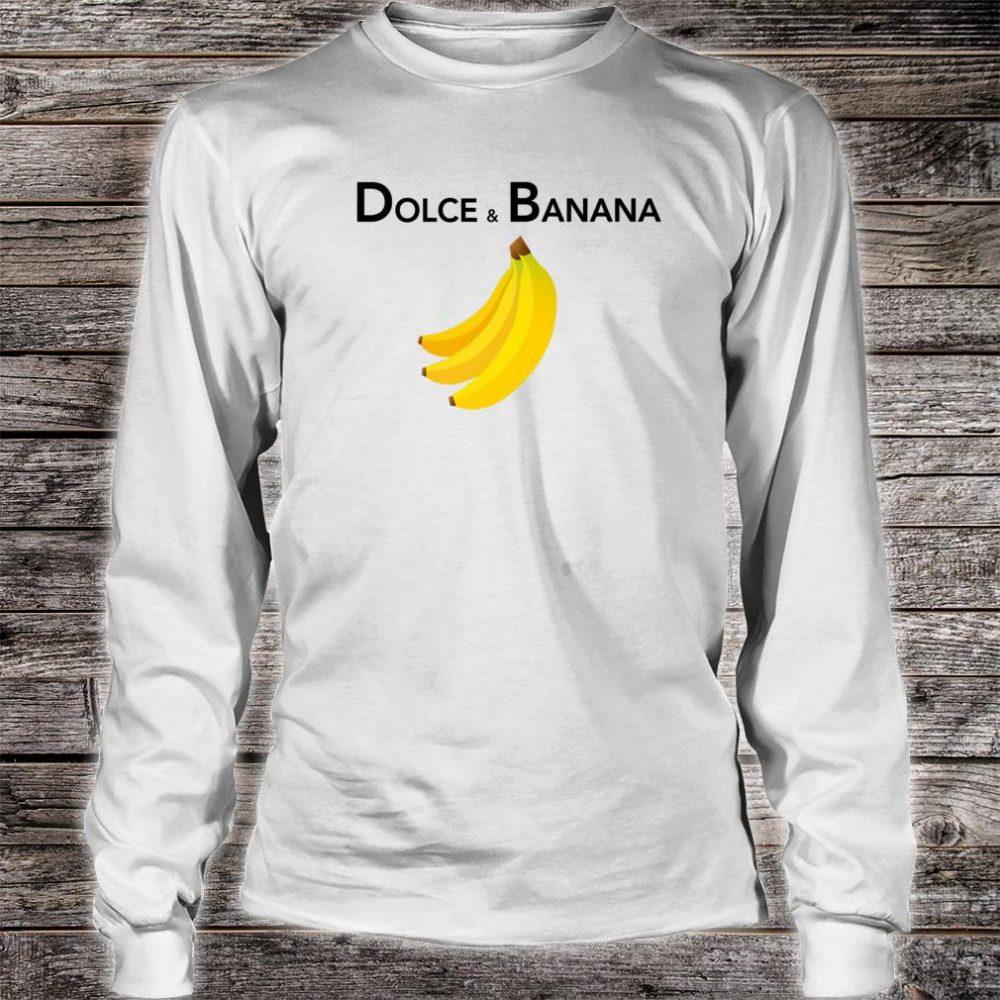 Dolce & Banana Fashion Bananas Shirt For Vegan Shirt long sleeved
