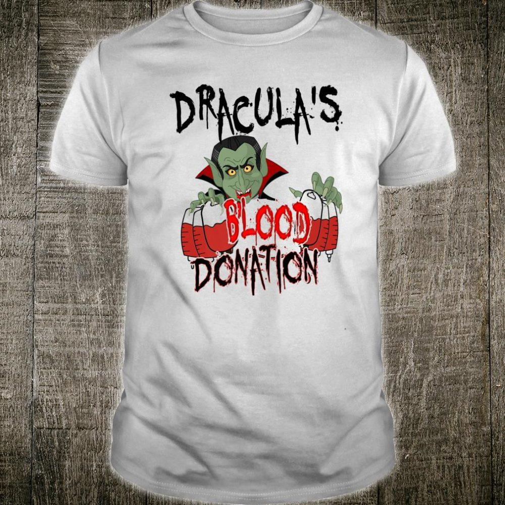 Dracula Vampire Vintage Creepy Horror Movie Scary Halloween Shirt