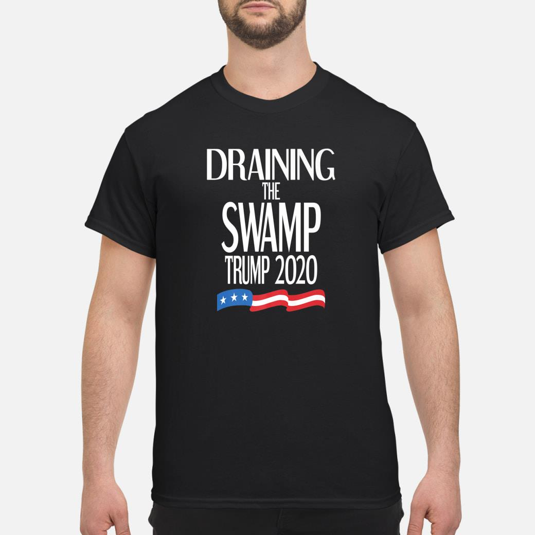 Drain The Swamp Republican Trump 2020 Election Political USA Shirt
