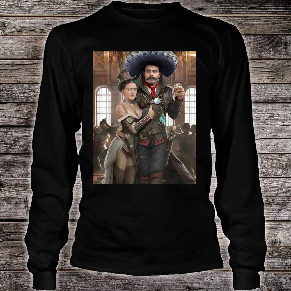 EMILIANO ZAPATA MEXICAN CANTINA Shirt long sleeved