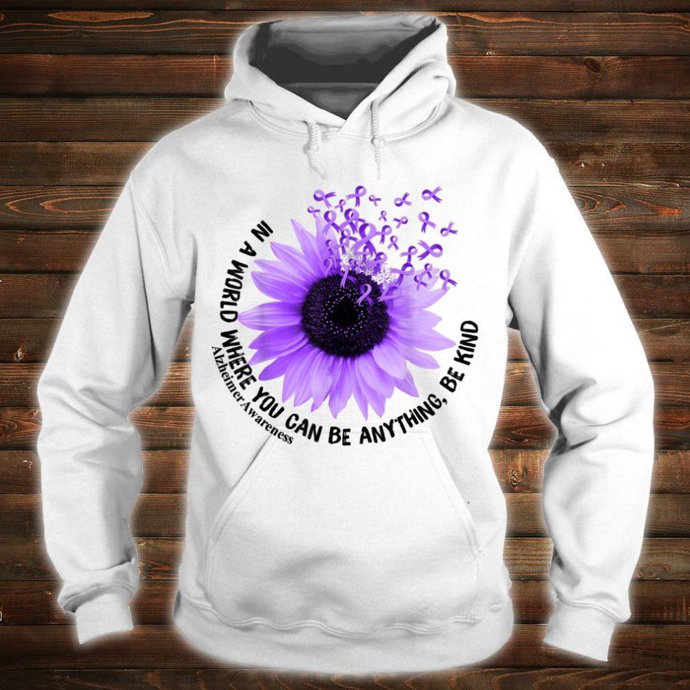 Flower Be Kind Shirt Alzheimer Awareness Shirt hoodie