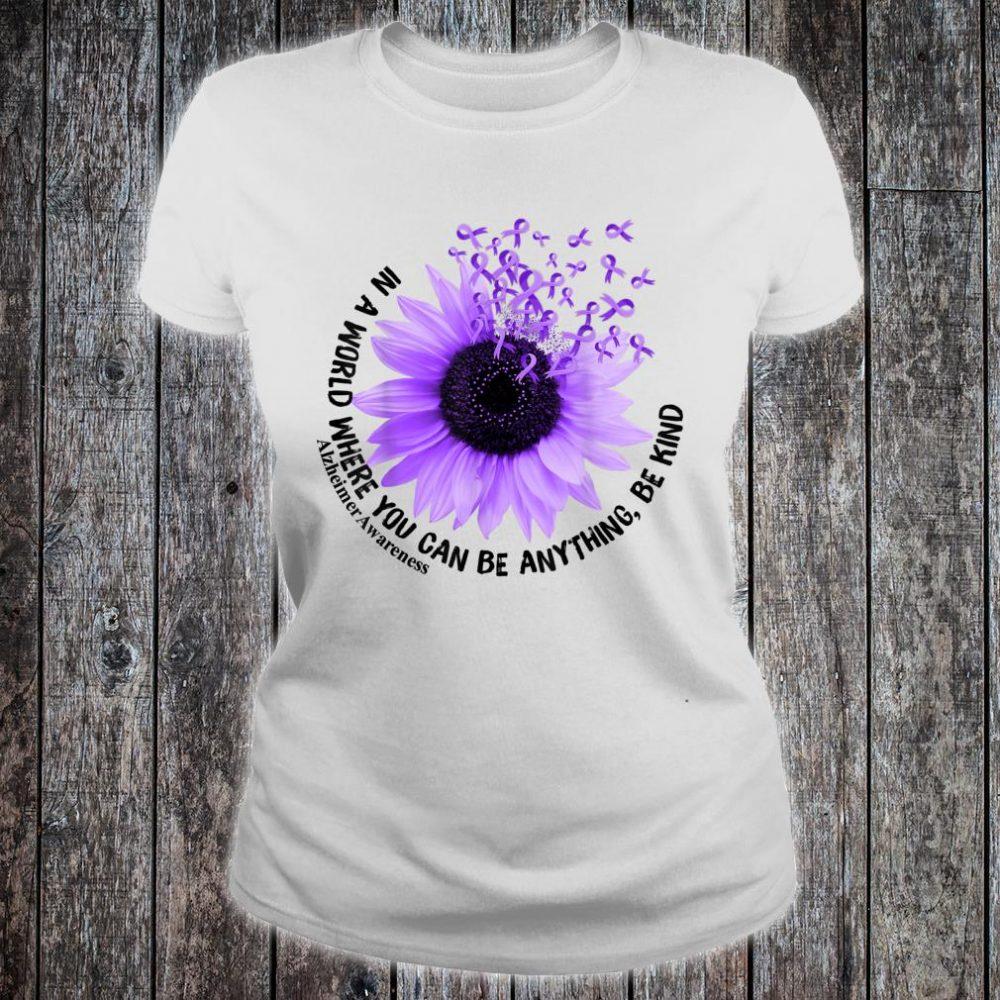 Flower Be Kind Shirt Alzheimer Awareness Shirt ladies tee