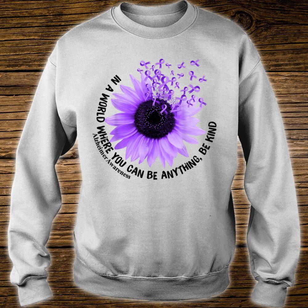 Flower Be Kind Shirt Alzheimer Awareness Shirt sweater