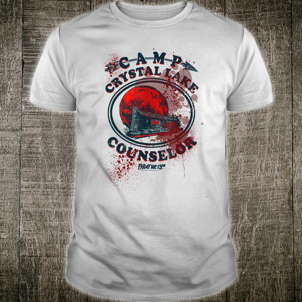 Friday the 13th Camp Counselor Victim Shirt