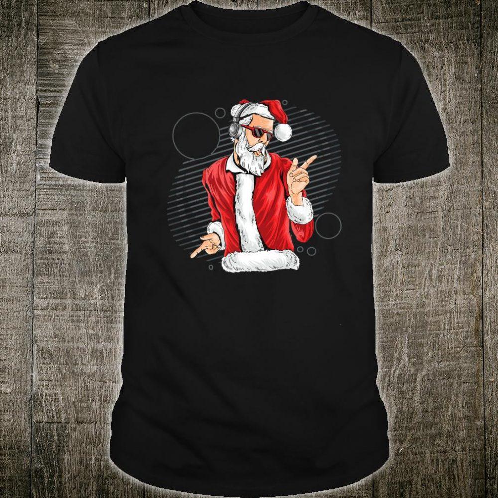 Funnny Dance Santa Music Claus Merry Chrismas Shirt