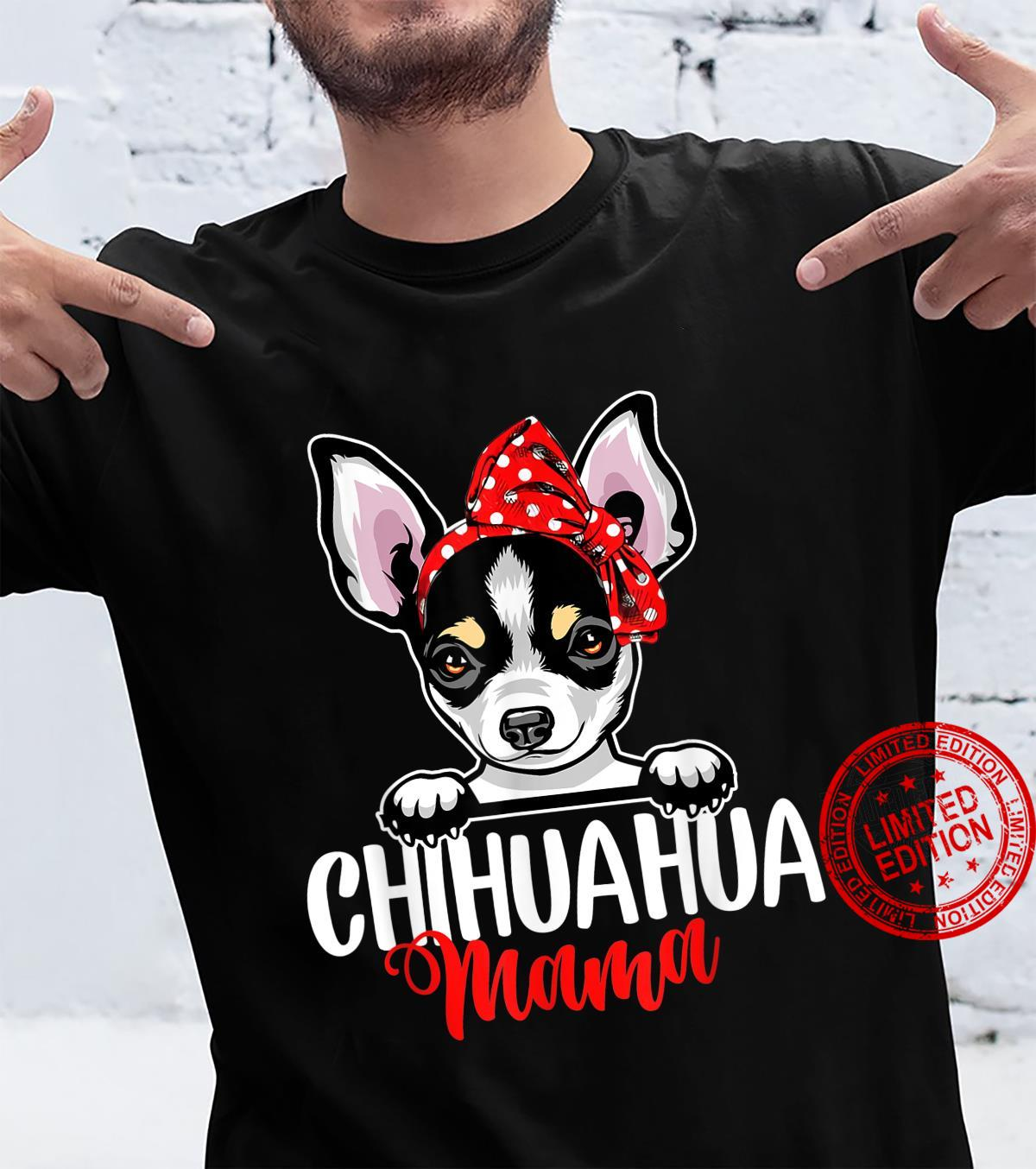 Funny Chihuahua Mom Dogs Mothers Day Shirt