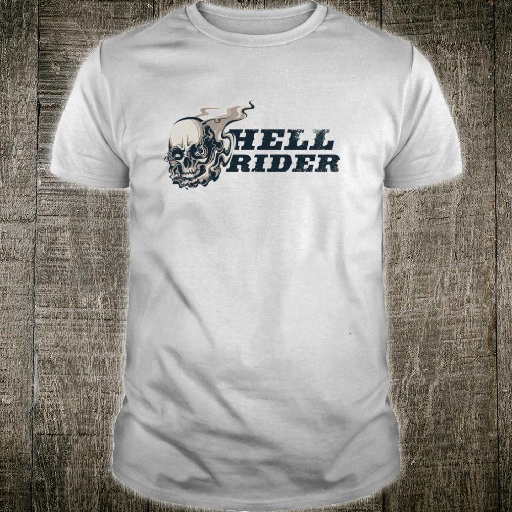 Halloween Costume Skull Rider Shirt