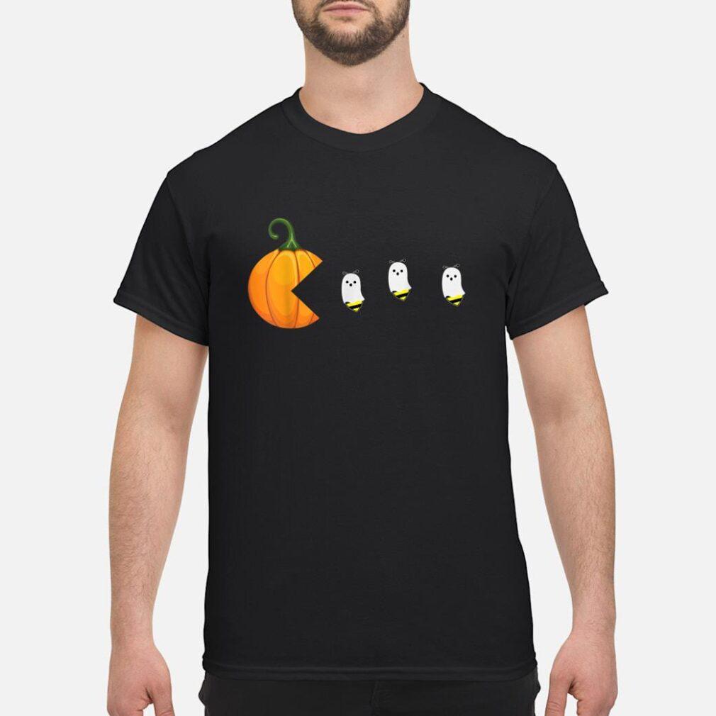 Halloween For Women Men Pumpkin Ghosts Boo Bees Shirt
