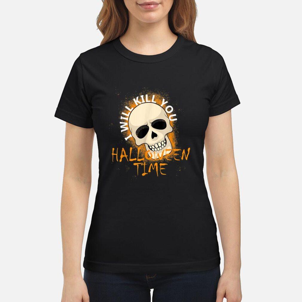 Halloween Samhain Costume Shirt ladies tee