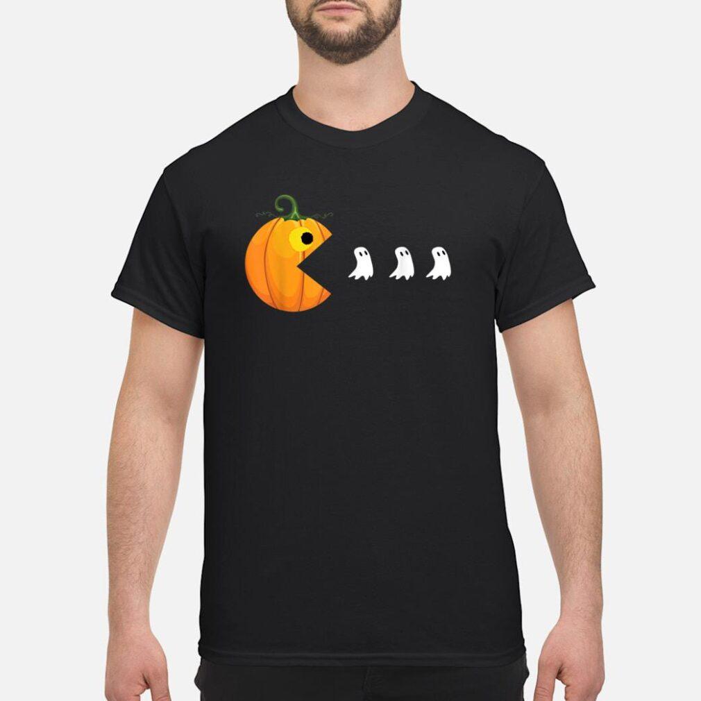 Halloween Shirts For Women Men Pumpkin Ghosts Shirt