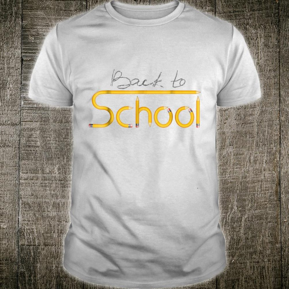Happy Back to School 1st Day Of New School Year Shirt