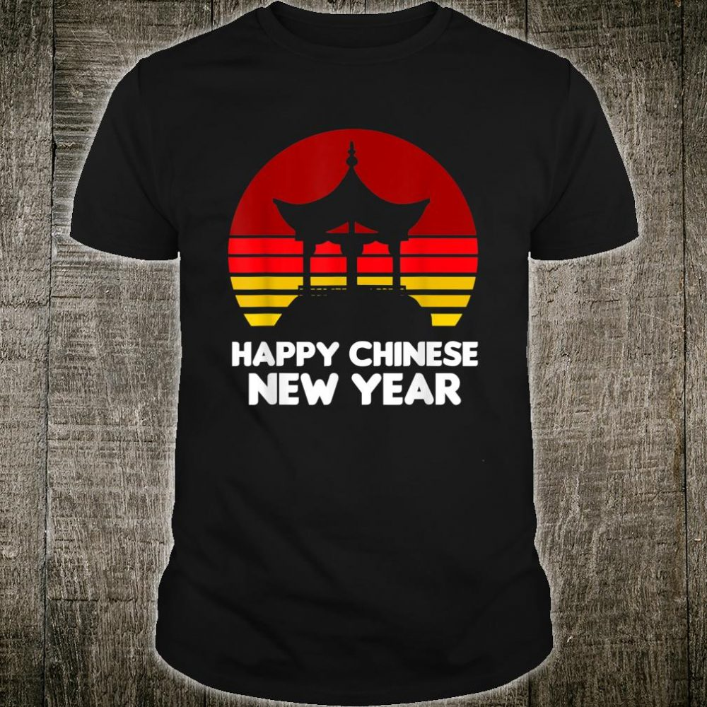 Happy Chinese New Year 2020 Year of the Rat Chinese Temple Shirt