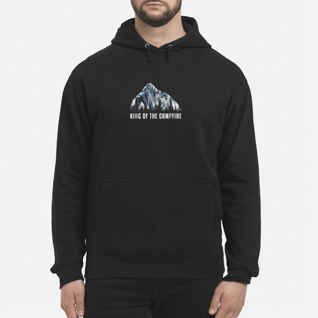 Hiking Shirt King Of The Low Poly Gift Shirt hoodie