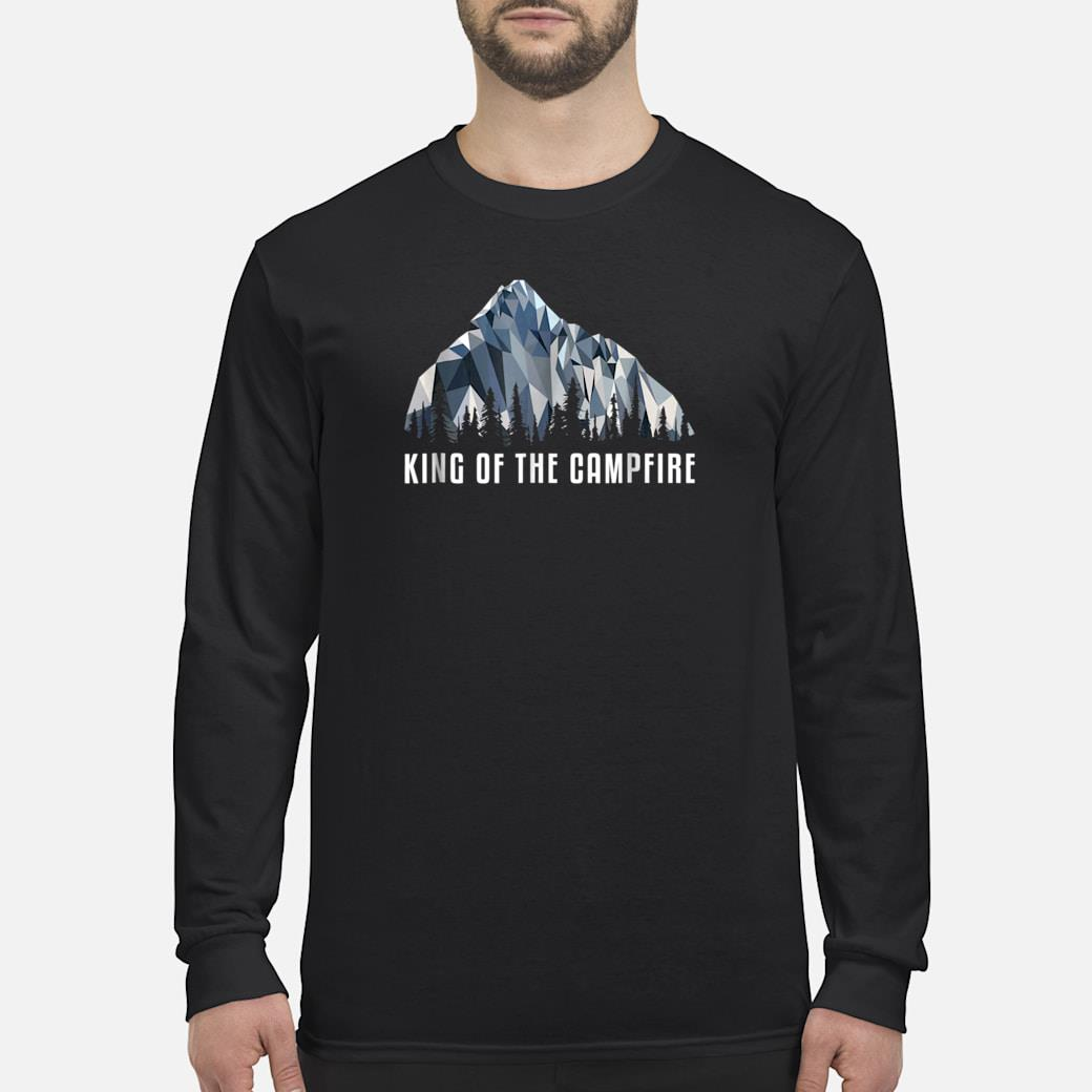 Hiking Shirt King Of The Low Poly Gift Shirt long sleeved