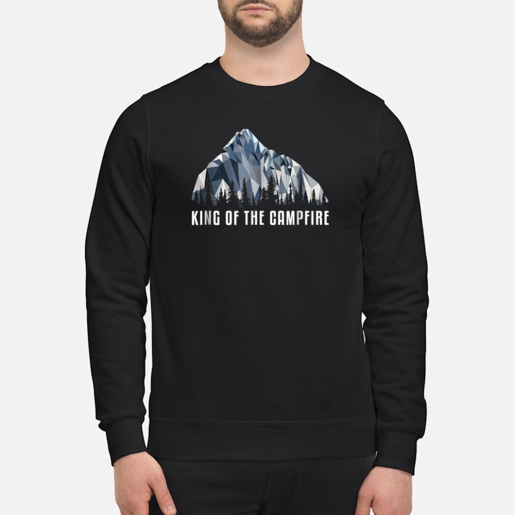 Hiking Shirt King Of The Low Poly Gift Shirt sweater
