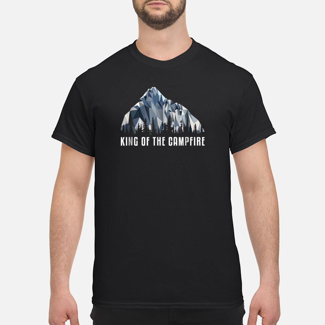 Hiking Shirt King Of The Low Poly Gift Shirt