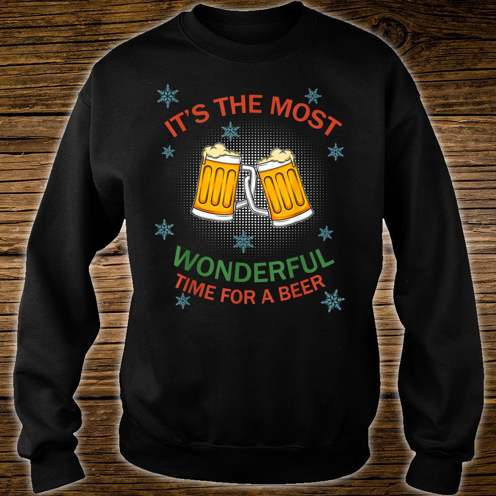 Its The Most Wonderful Time for A Beer 6 Pullover for Unisex Knit Sweater