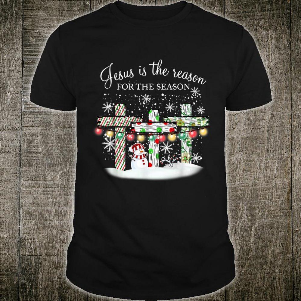 Jesus Faith Cross Christian Christmas Christmas Season Shirt