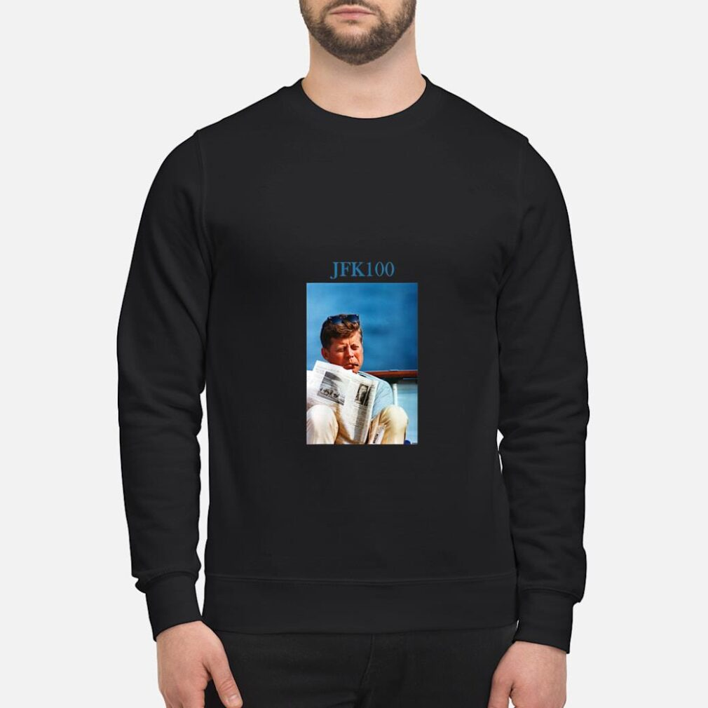 John F Kennedy Vintage JFK 100 Shirt sweater