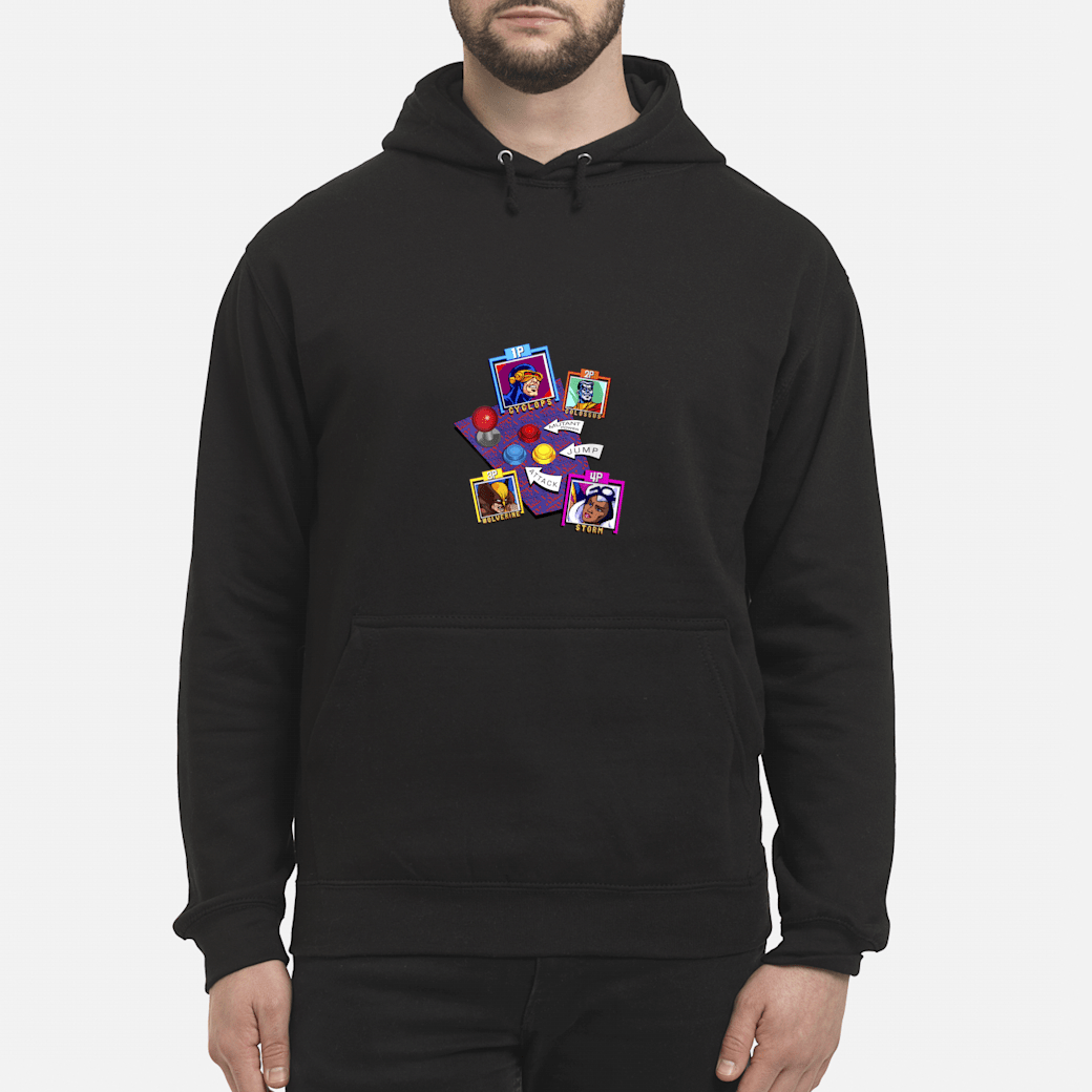 Marvel Arcade Character Panel Collage Shirt hoodie